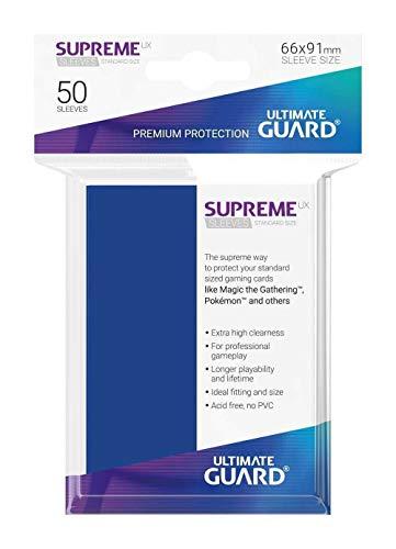 Ultimate Guard Supreme UX Mangas Tamaño Estándar Azul (50) Custodie Carte (UGD010799)