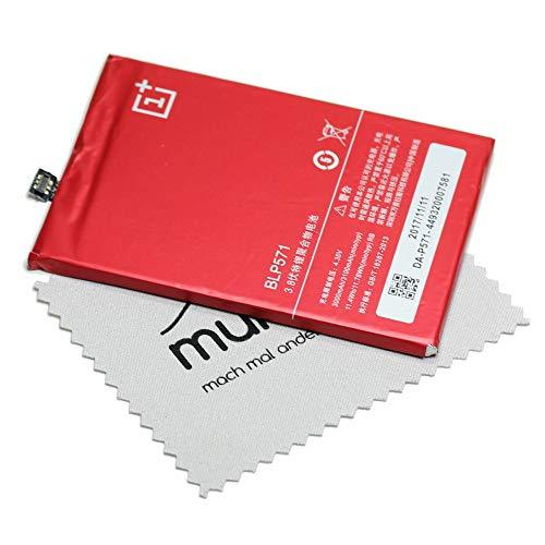 Batteria per Oneplus originale BLP571 per Oneplus One + panno di pulizia per display Mungoo