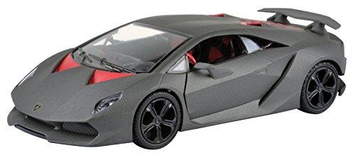 1/24 Motor Max Lamborghini Sesto Elemento Mattschwarz