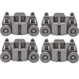 Odowalker Pack of 4 Dishwasher Premium Wheels Lower Rack for Kenmore...