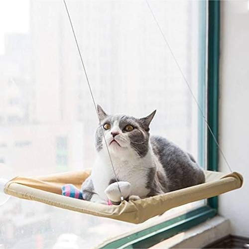 Tuzi Qiuge Saugnapf Stil Einfach Fenster Katze Hängematte, Größe: 55 x 35cm