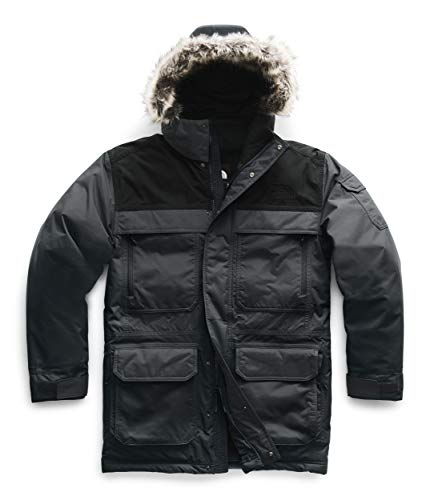The North Face Men's McMurdo Parka III, Asphalt Grey/TNF Black/TNF Black, 2XL