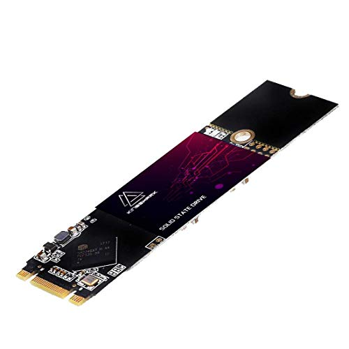 KingShark SSD M.2 2280 240GB Ngff SSD 80MM SATA III 6Gb/s Unidad De Estado Sólido Incorporada de Alta Velocidad Unidad de Disco Duro de Alto Rendimiento para computadora portátil de(240 GB, M.2 2280)