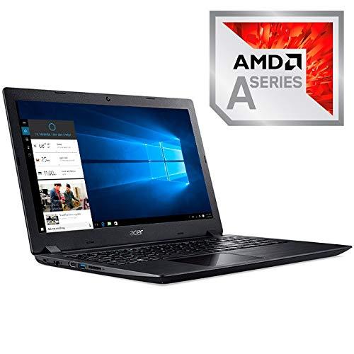 Acer PORTATIL Aspire A315-21-907M A9-9420 15,6HD 8GB S256GB WiFi.AC W10 Negro