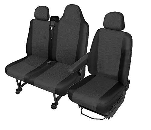 TXTrade Sitzbezüge Hero Passgenau geeignet für FIAT TALENTO ab 2016-1+2 01