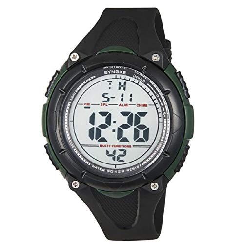 Armbanduhr LANOWO FüR MäNner LED Digital Date Sport Gummi Uhr Alarm Wasserdicht Verkaufen Sich Wie Warme Semmeln Watch