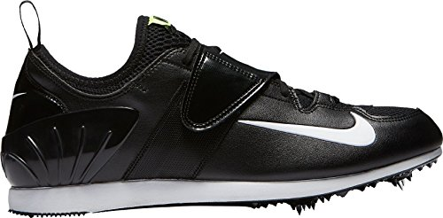 Nike Zoom Pv II, Zapatillas de Running Unisex Adulto, Negro (Black/White/Volt 017), 44.5 EU