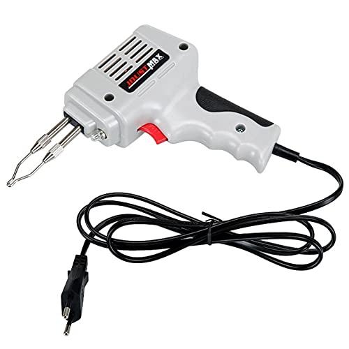 E E-NICES herramientas 100W Soldadura eléctrica Pistola de hierro Pistola de calor de aire caliente Herramienta de soldadura a mano con soldadura de alambre de soldadura de reparación de soldadura Kit