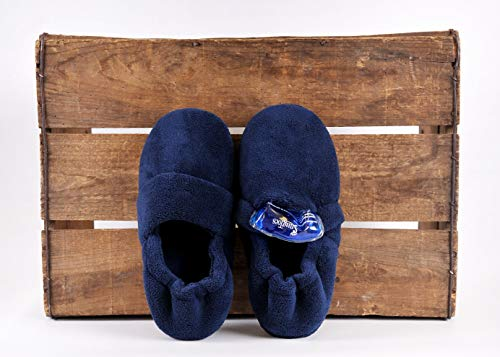 SnugToes Arola Microwavable Heated Slippers for Men