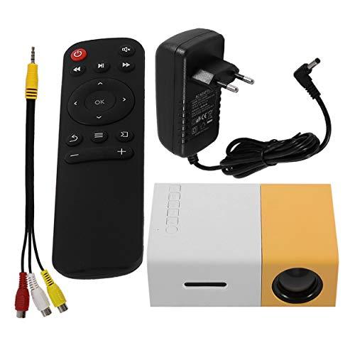 YG300 Proyector Mini Profesional Full HD1080P Cine en casa Proyector LED Reproductor...