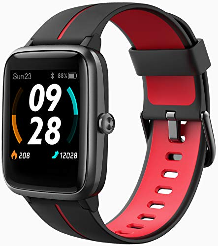 Blackview Smartwatch GPS Orologio Fitness Uomo Donna Impermeabile 5ATM Smart Watch Cardiofrequenzimetro da Polso Contapassi Smartband Activity Tracker Bambini Cronometro per Android iOS …