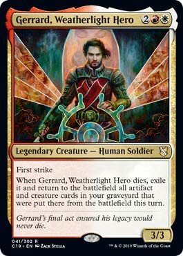 Magic: the Gathering - Gerrard, Weatherlight Hero - Gerrard, Eroe Della Cavalcavento - Commander (2019 Edition)