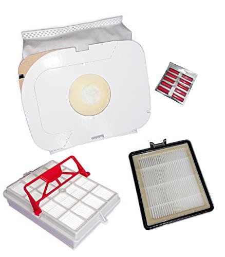 Filtro higiénico + filtro de carbono + 20 bolsas de polvo + fragancia compatible LUX Intelligence S115