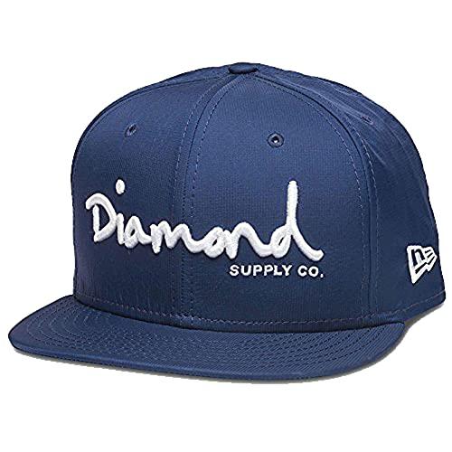 Diamond Supply Co. Men's New Era OG Script Porto Fitted Hat Blue 8