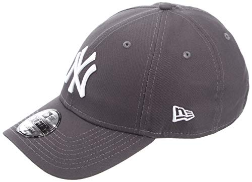 New Era Gorra de béisbol 9FORTY York Yankees Grafito - Ajustable
