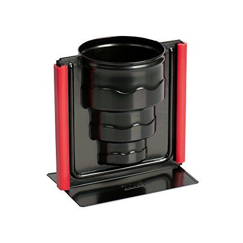 Kaiser Inspiration 3D Vollbackform Torte 17 x 10 x 16 cm, Backform antihaftbeschichtet, auslaufsicher, Motivbackform mit Silikonklammern