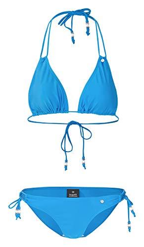 Bugatti® Damen Bikini in Marineblau, Rose oder schwarz (38, frenchblue)