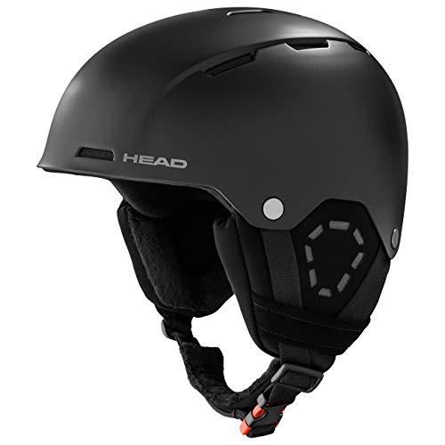 Head Trex, Casco da Sci Unisex-Adult, Nero, XL XXL
