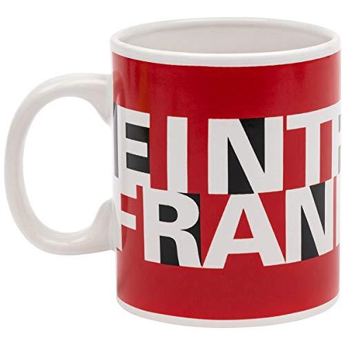 Eintracht Frankfurt Tasse Mega, XXL Kaffeetasse 0.5l, Kaffeebecher SGE - Plus Lesezeichen I Love Frankfurt
