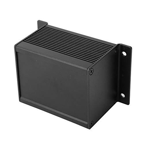 Weikeya Buena caja de aleación de aluminio, ventilador negro mate, disipación de calor electrónica, aluminio, una placa de circuito de aleación de aluminio.