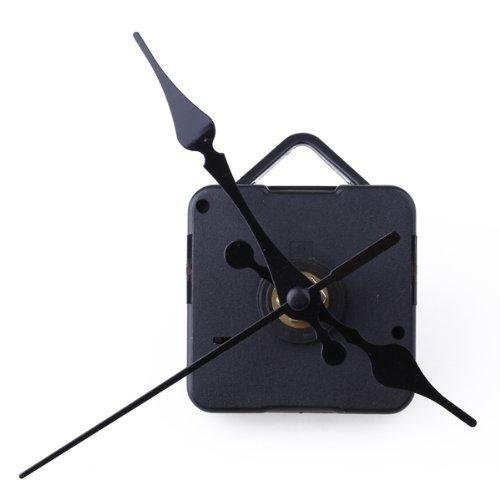 Gleader Movimento + Lancette Nero da Ricambio Orologio Tavolo Parete Accessori