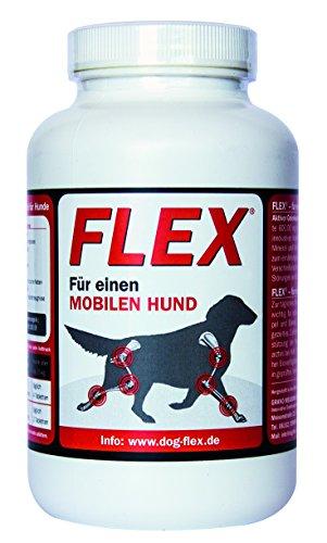 Dog-Flex Alimento adicional para perros, articulaciones y tendones, articulaciones fuertes, 150 tabletas articulares, suplemento alimenticio para el perro.