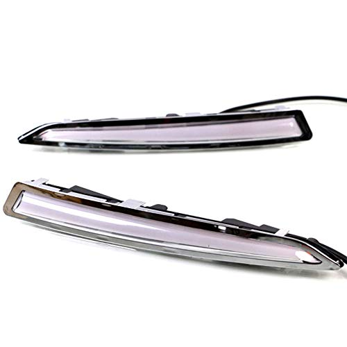 IIWOJ Nebelscheinwerfer DRL Tagfahrlicht LED Blinkerleuchte Kompatibel Mit Ford Kuga Escape 2013~2016,2pcs