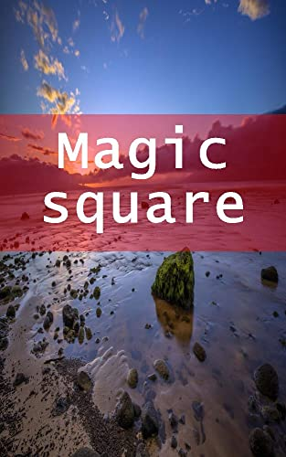 Magic square (Italian Edition)