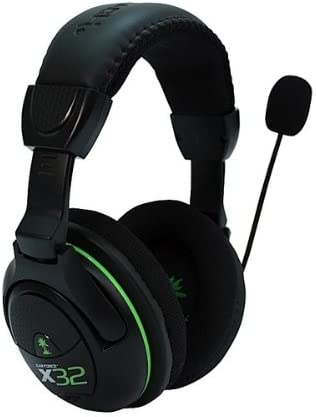 Turtle Beach Ear Force X32 Wireless Gaming Headset Compatible with Xbox 360 product image