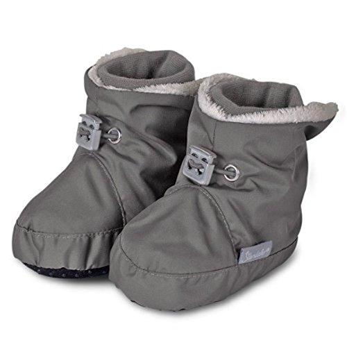 Sterntaler Chaussons pour bébé - gris -