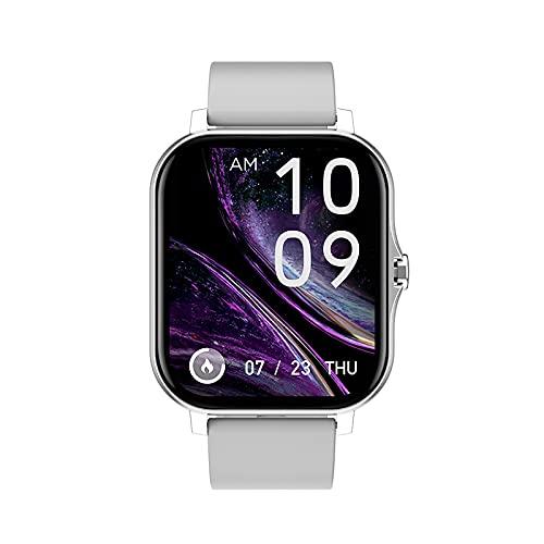 Reloj Inteligente Y13 para Hombres Y Mujeres Contador de Calorías del Podómetro del Monitor del Ritmo Cardíaco Reloj Deportivo Bluetooth Impermeable IP67 con Pantalla HD de 1 69