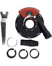 PRODIAMANT Afzuigkap met Borstels voor 115 mm en 125 mm Haakse Slijper, voor slijpwerkzaamheden met afzuiging