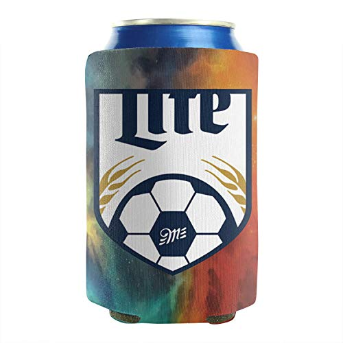 sknkdhgiJ Can Coolers Sleeves Miller-Lite-Football- Beer Funny Cans Cooler Covers Pack of 2 Plain