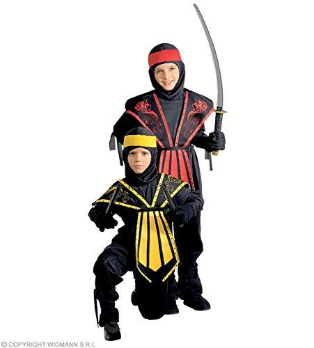 Widmann Kinder-Kostüm-Set Kombat Ninja, rot, GröÃ?e 158