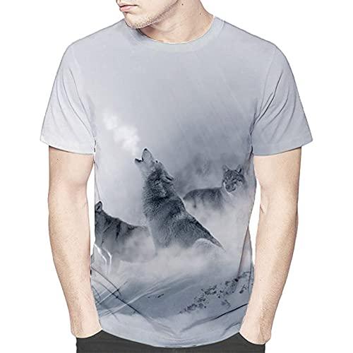 SSBZYES Camiseta para Hombre Camiseta De Verano De Manga Corta para Hombre Camiseta Estampada De Gran Tamaño Camiseta Holgada De Manga Corta con Cuello Redondo Camiseta De Manga Corta para Pareja