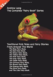 """12كتب في 1: أندرو lang من سلسلة كاملة """"Fairy كتاب"""". The ، باللون الأزرق ، الأحمر ، الأخضر ، باللون الأصفر ، متوفر باللون ..."""