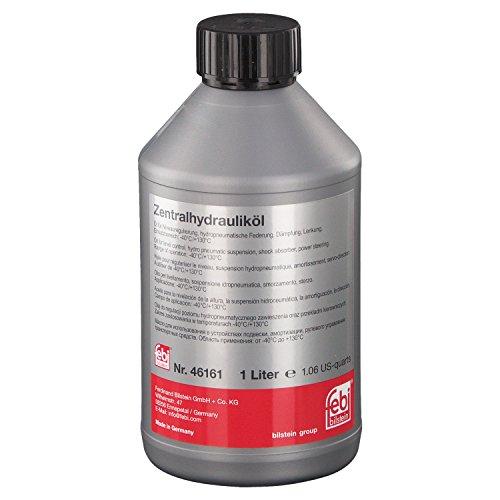 febi bilstein 46161 Hydrauliköl für die Zentralhydraulik, Servolenkung und Niveauregulierung (grün) 1 Liter