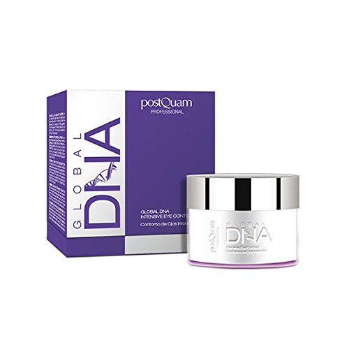 Postquam - Global DNA | Contorno de Ojos Antiarrugas, Antiojeras y Antibolsas - 15 Ml