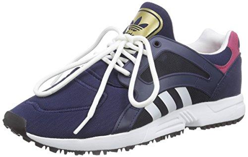 adidas Racer Lite W - Zapatillas de Running para Mujer, Color Negro/Blanco/Rosa, Talla 42