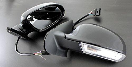 Aussenspiegel mit LED Blinker USA Schwarz