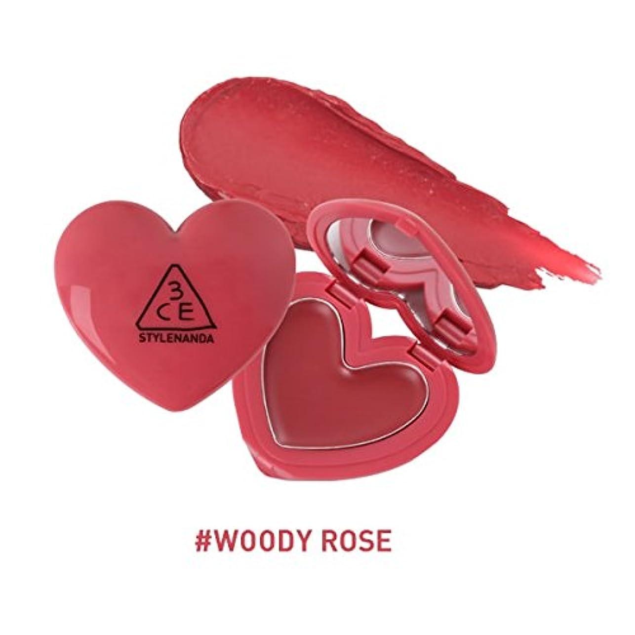 生命体軽減ビタミン3CE ハート ポットリップ / HEART POT LIP (1.4g) (WOODY ROSE) [並行輸入品]