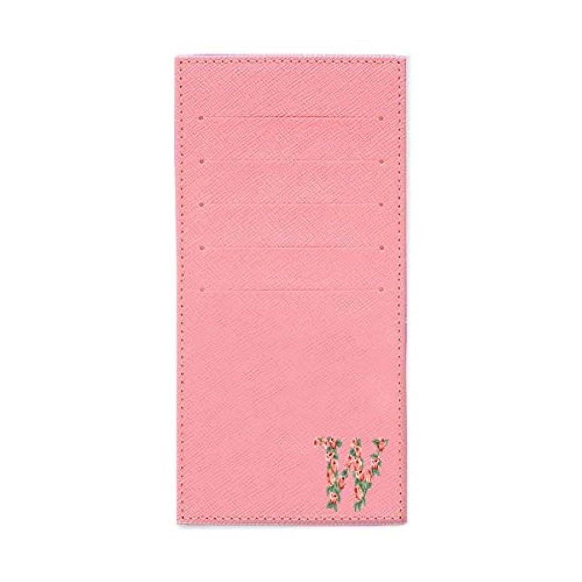 先駆者タービンエイリアンインナーカードケース 長財布用カードケース 10枚収納可能 カード入れ 収納 プレゼント ギフト 2811フラワーネーム ( W ) パウダーピンク mirai
