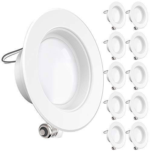 Top 10 Best LED Recessed Lighting Retrofit Kits Reviews 2019-2020 cover image