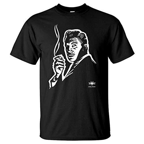 Vincent Price T-Shirt - Original Illustration - 100% Preshrunk Cotton Black T-Shirt (Large)