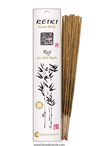Fiore d'Oriente, Reiki incenso Reiji, 8Bastoncini per Confezione