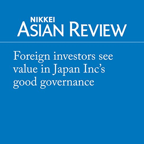 Foreign investors see value in Japan Inc's good governance audiobook cover art