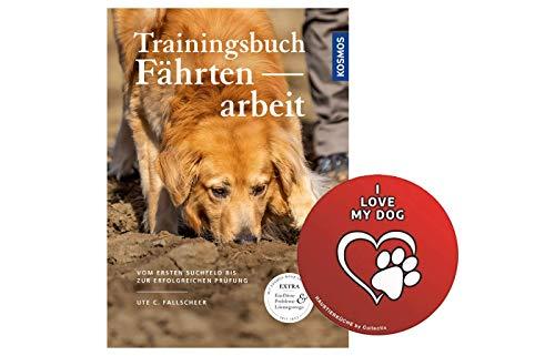Collectix Trainingsbuch Fährtenarbeit: Vom ersten Suchfeld bis zur erfolgreichen Prüfung (Gebundenes Buch) + Hunde-Sticker