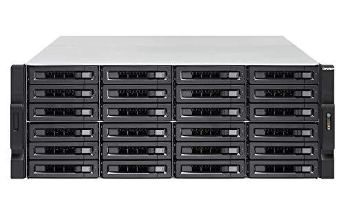 QNAP TS-2477XU-RP-2600-8G NAS System 24-Bay, Ryzen-basiert Rackmount, bis zu 8 Cores16 Threads