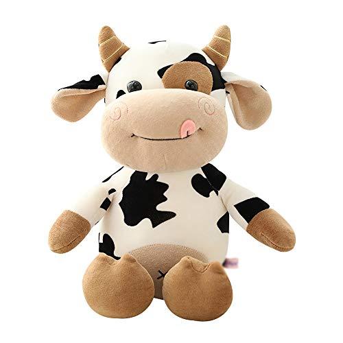 NXYJD Plüsch Kuh Spielzeug Nettes Vieh Plüsch Kuscheltiere Vieh Weiche Puppe Kinderspielzeug Geburtstagsgeschenk für Kinder (Size : 50cm)