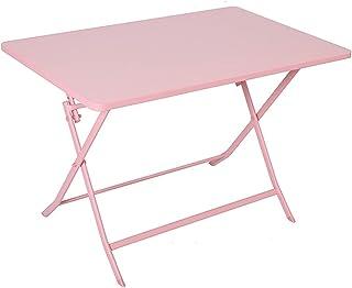 yuanyuanliu Table Pliante, Table À Domicile Simple Millet Table, Table D'étude, Balcon Table Rectangulaire, Table Petite A...